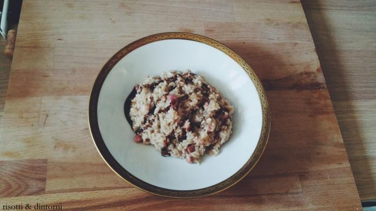 risotto fontina pancetta dolce valpolicella