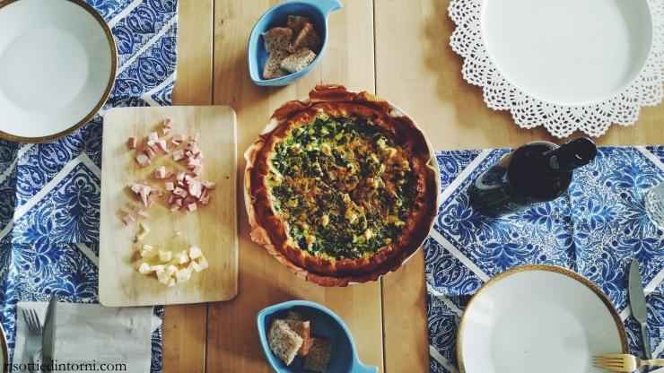 risotti & dintorni - torta salata integrale