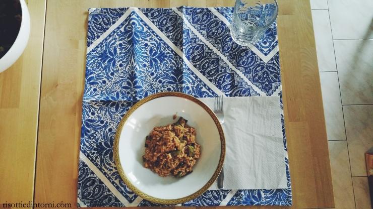 risottiedintorni.com | risotto al barbaresco con taccole e formaggella bergamasca