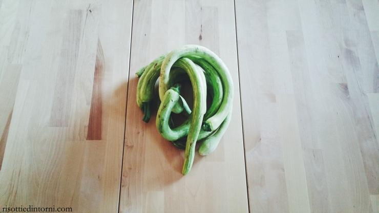 risotti e dintorni - zucchine trombetta