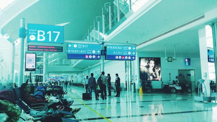 risotti e dintorni, dubai, aeroporto, airport