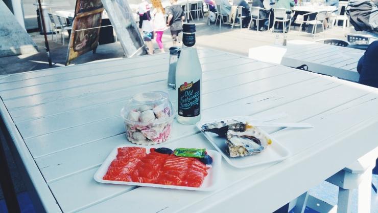 risotti e dintorni, auckland, new zealand, nuova zelanda, fish market, pesce, mercato, pranzo, lunch