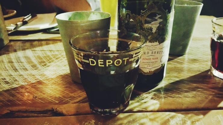 risotti e dintorni, auckland, nuova zelanda, new zealand, cena, depop, vino, vino rosso, red wine, pinot nero, terra sancta