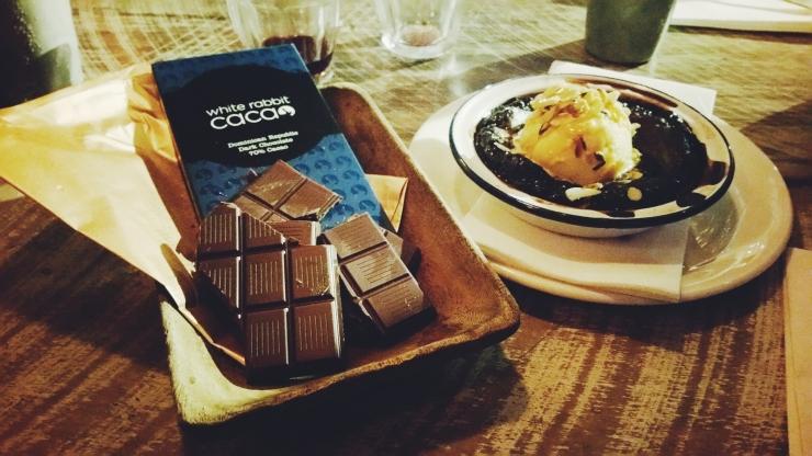 risotti e dintorni, auckland, nuova zelanda, new zealand, cena, depop, dessert, cioccolato, chocolate pudding