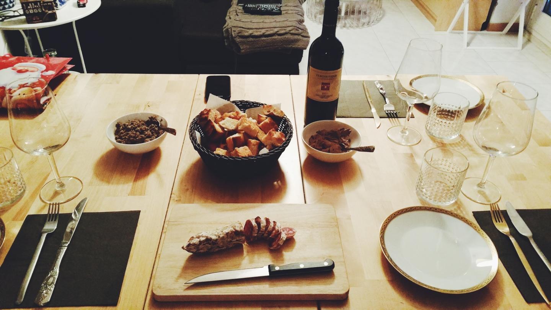 risotto risotti e dintorni cena natale fegatini di pollo patè crostino nero toscano ricetta ricette