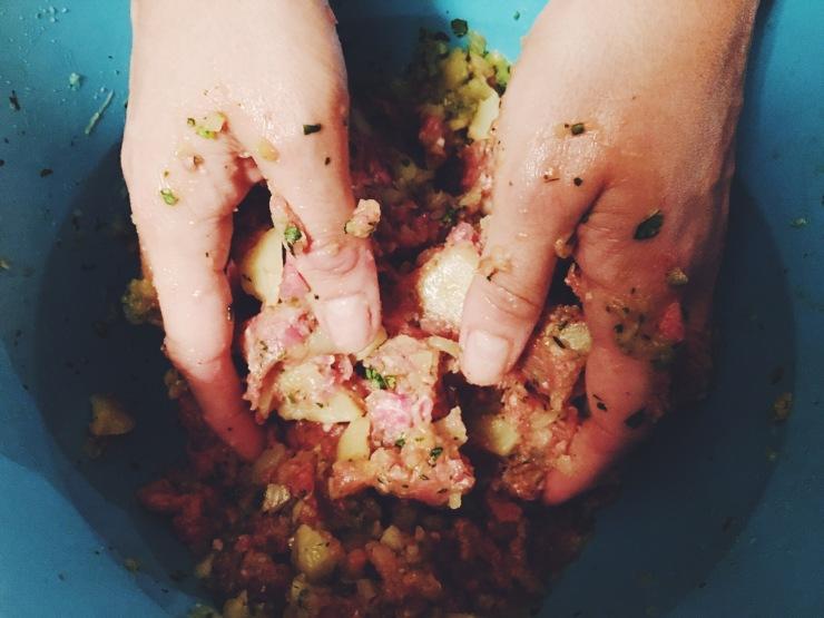 risotti e dintorni persiana polpette speziate manzo patate kotlet