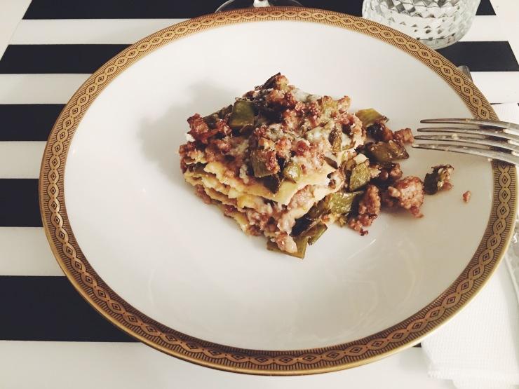 risotti dintorni lasagne ragù bianco taccole pecorino