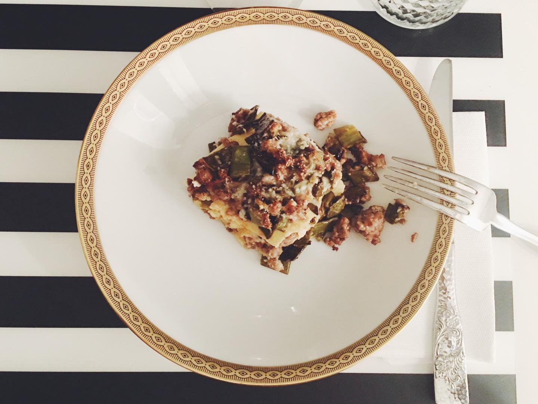 risotti e dintorni lasagen taccole ragù bianco pecorino