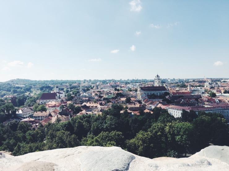 Vilnius View Gediminas Tower